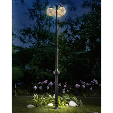 The 6' Solar Post Lamp