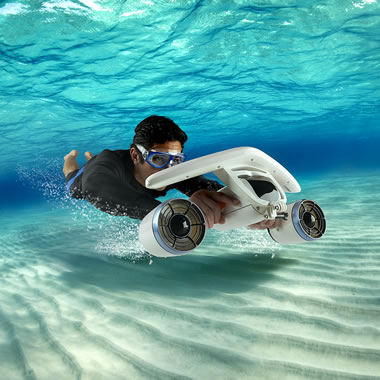 The Most Compact Underwater Scooter
