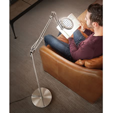 The Clarity Enhancing Magnifying Reading Lamp