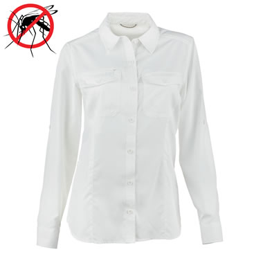 The Tick And Mosquito Thwarting Blouse (Women's)