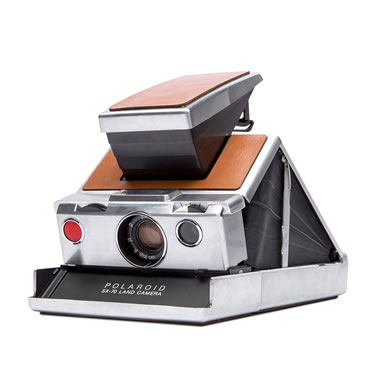 The Genuine Restored Polaroid Camera