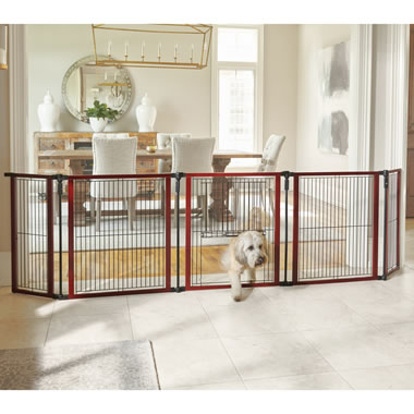 The Pet's Pen Or Gate