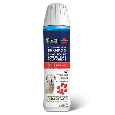 Skunk And Odor Shampoo for The Tubless Dog Bath