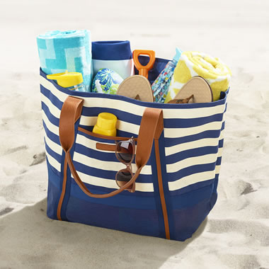 The Sandless Beach Tote Bag