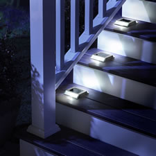 The Superior Solar Stairway Light