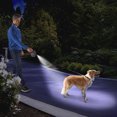 The Only Dog Tracking Illuminated Leash