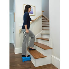 The Only Half Step Stair Climbing Aid