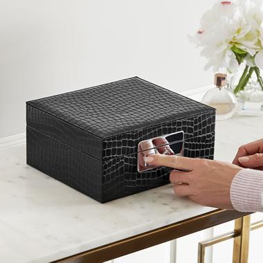 The Biometric Secure Jewelry Box
