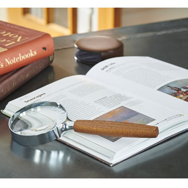 The Genuine Schweizer Magnifying Glass