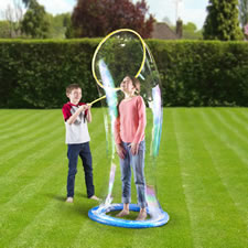 The Mega Bubble Maker