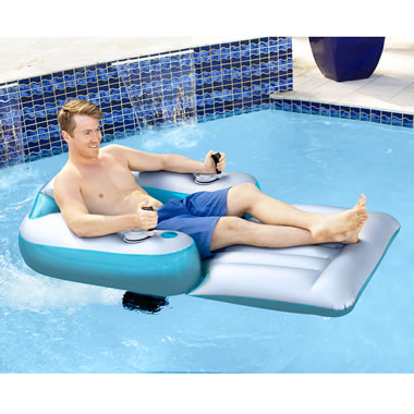 The Motorized Pool Float