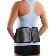 The Compression Adjusting Back Brace