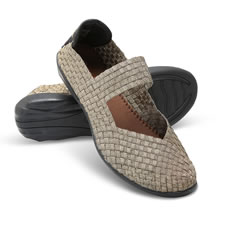 The Woven Stretch Comfort Mary Janes