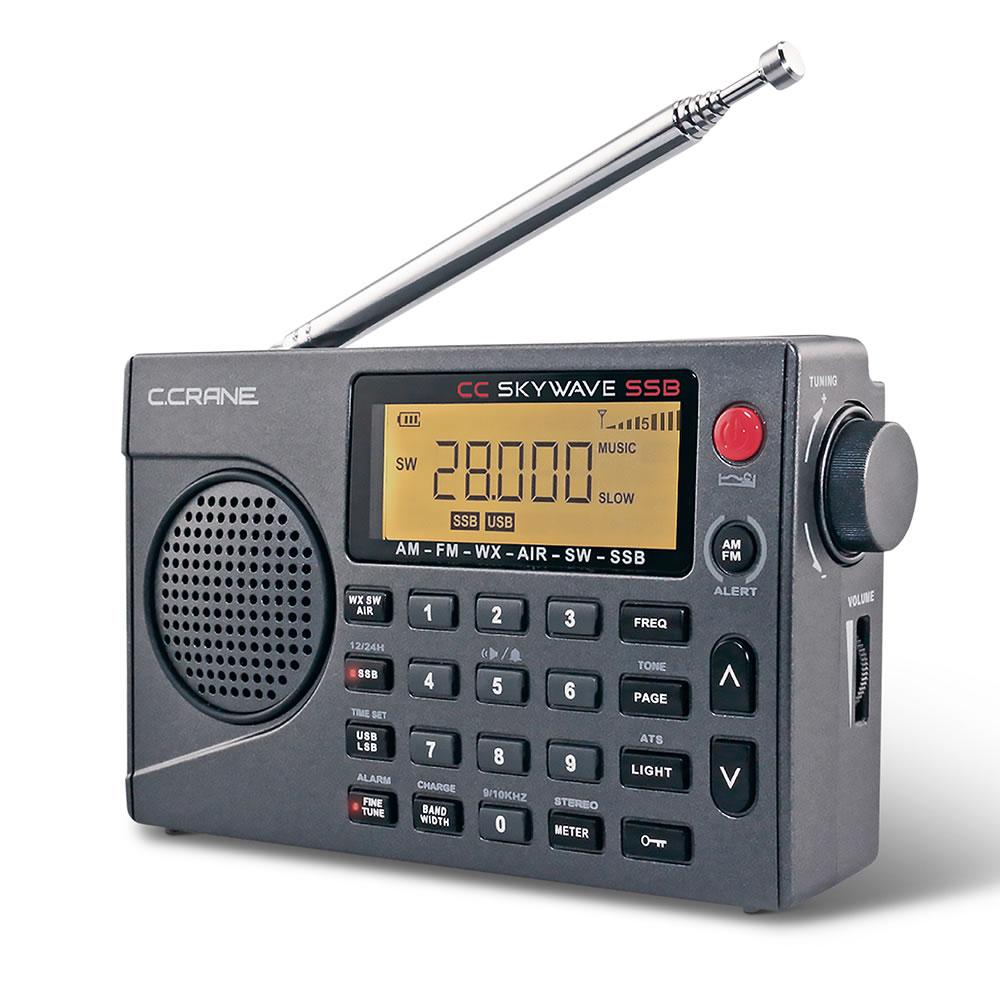 30ed4f00a50 Superior World Band Radio - Hammacher Schlemmer