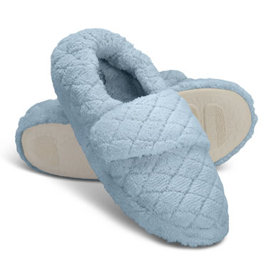 The Arch Supporting Wrap Slippers Powder Blue