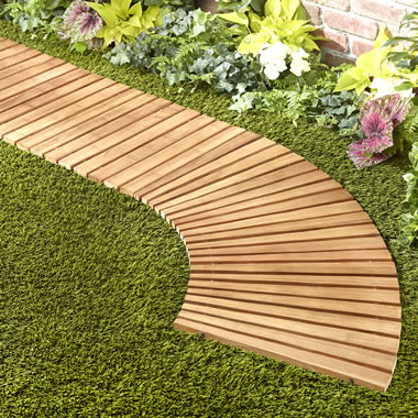 The Instant Cedar Walkway