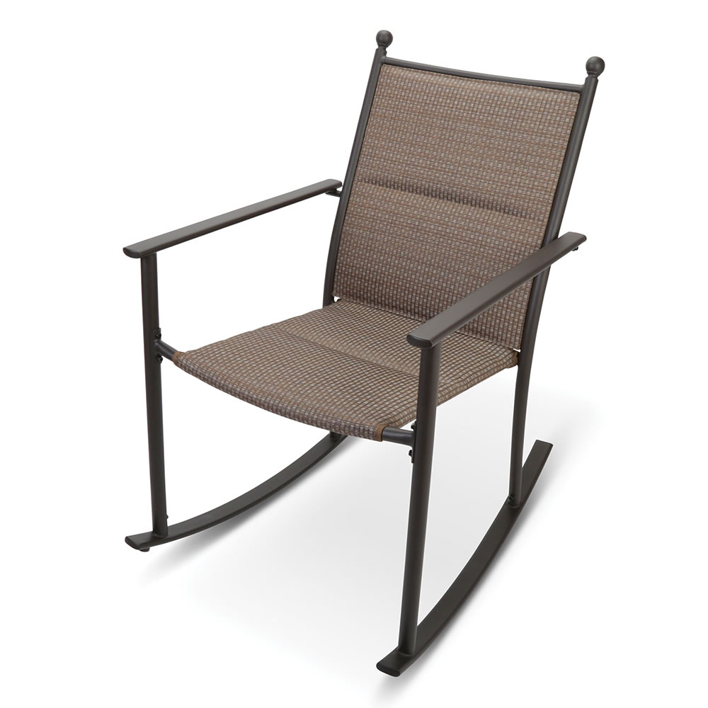 Peachy The All Weather Padded Rocking Chair Caraccident5 Cool Chair Designs And Ideas Caraccident5Info