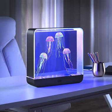 The Hypnotic Jellyfish Oceanarium Blue