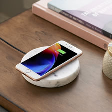 The Solid Marble Wireless Charger
