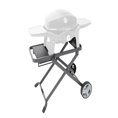 Folding Cart For The Best Tailgating Grill