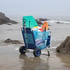 The Convertible Beach Cart Lounger