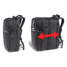The Ultralight Expandable Carry-On/Backpack