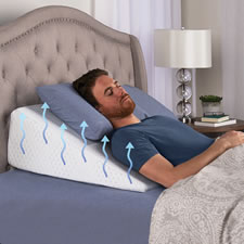 The Temperature Regulating Adjustable Bed Wedge