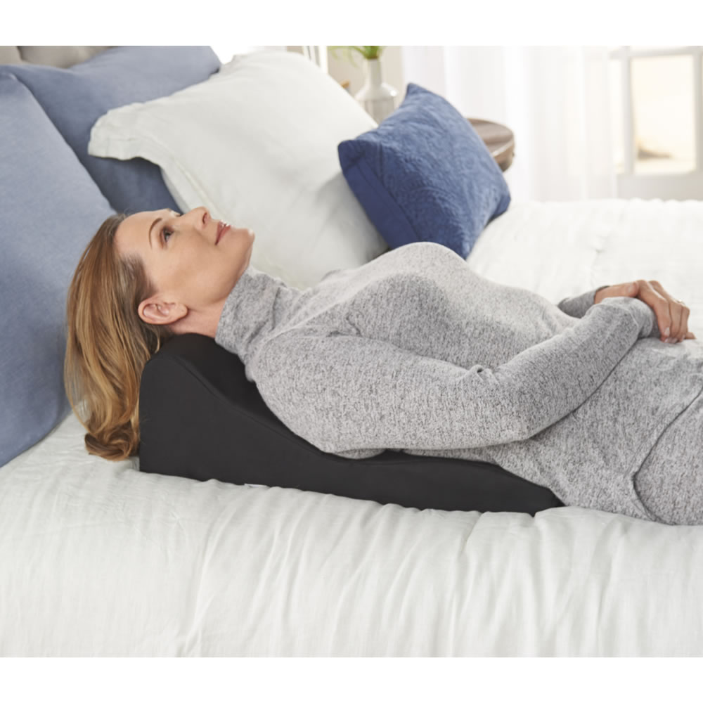 The Headache And Neck Pain Relieving Cushion Hammacher
