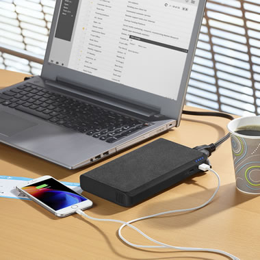 The Portable 15 Hour Laptop Power Station