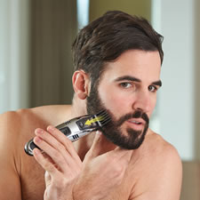 The Messless Beard Trimmer/Vacuum