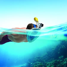 The Video Camera Easy Breathing Snorkel