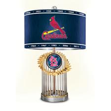 The St. Louis Cardinals World Series  Commemorative Lamp