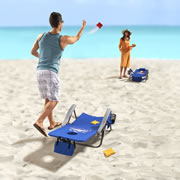 The Backpack Cornhole Toss Chairs