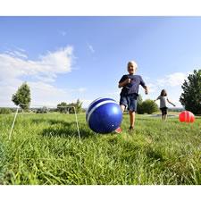The Kickball Croquet Set