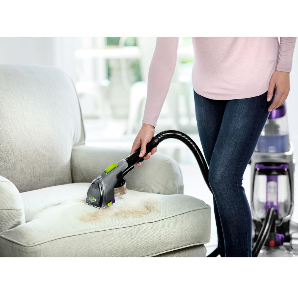 The Best Carpet And Upholstery Steam Cleaner Hammacher Schlemmer