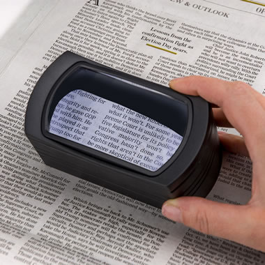 The Illuminated Fine Print Magnifier