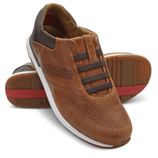 The Easiest On/Off Leather Athletic Shoes