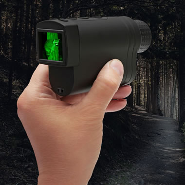 The Night Vision Pocket Monocular