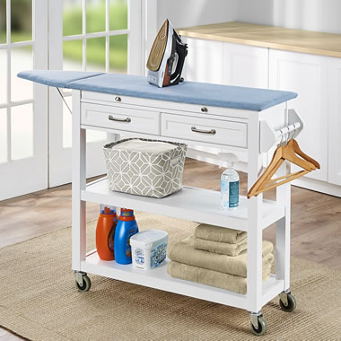 The Mobile Ironing Board Laundry Station