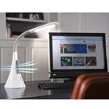 The Bladeless Fan And Desk Lamp