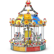 The Build Your Own Motorized Carousel