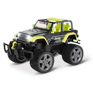 The RC All Terrain Jeep Wrangler