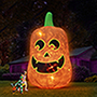 The 16' Glowing Inflatable Jack O' Lantern