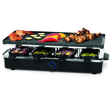 The Classic Raclette Entertainment Grill
