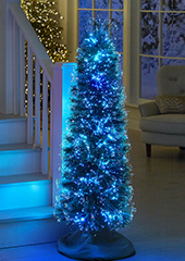 The Ultra Slim 5' Northern Lights Tree