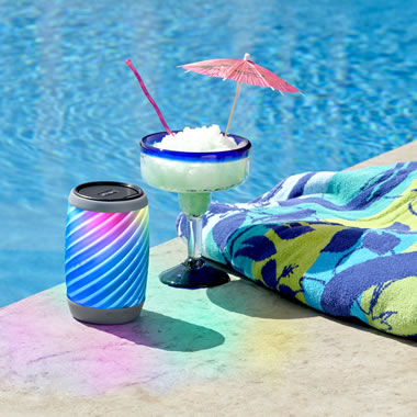 The Color Pulsing Waterproof Speaker