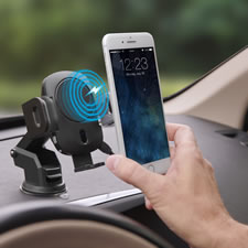 The Robotic Grip Wireless Charging Car Mount