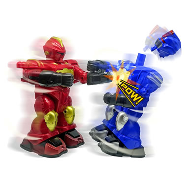 The Spinning RC Robotic Boxers