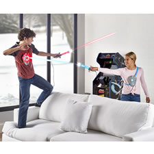 The Sword And Shield Laser Battle