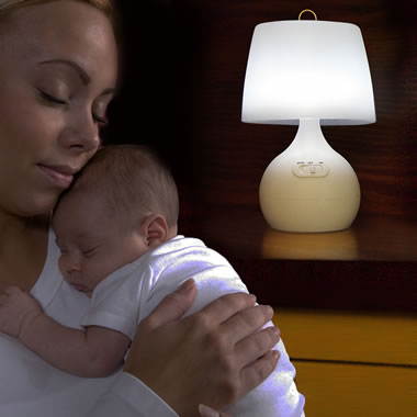 The Parent Entry Activated Nursery Lamp